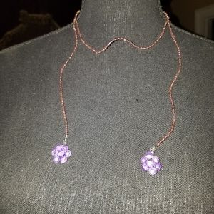 Jewelry - Hand strung Scarf Style Necklace
